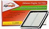 EPAuto GP997 (CA9997) Replacement for Subaru Extra Guard Panel Engine Air Filter...