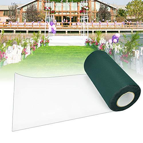 XAVSWRDE Kunstrasen Klebeband Künstliches Grasband 15cm*5m Kunstrasenband Selbstklebend Rasenteppich zur Befestigung von Kunstrasen für den Außenbereich, Garten, Rasen, Teppich (grün)