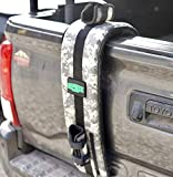 Bomber Strap Digital Camo: Made in USA, Patented, Secure Single MT Bike Application, Apply and Remove in Seconds
