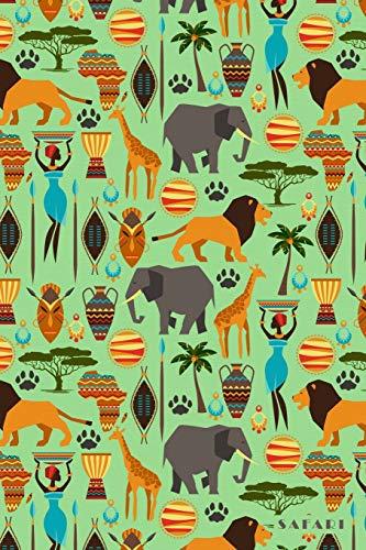 Safari: Tanzania South Africa Botswana Serengeti 2020 Planner Calendar Daily Weekly Monthly Organizer