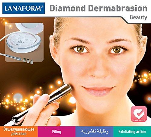 Lanaform DIAMOND DERMABRASION Eliminateur des Rides et Tâches de Peau