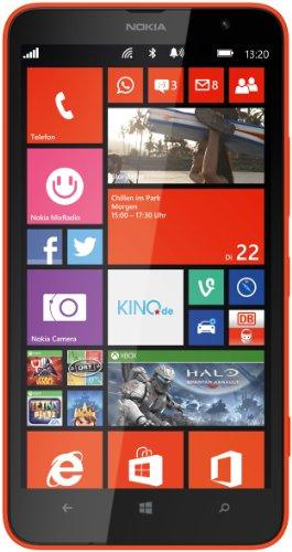 "Nokia Lumia 1320 - Smartphone Libre Windows Phone (Pantalla 6"", cámara 5 MP, 8 GB, Dual-Core 1.7 GHz, 1 GB RAM), Naranja (Importado)"