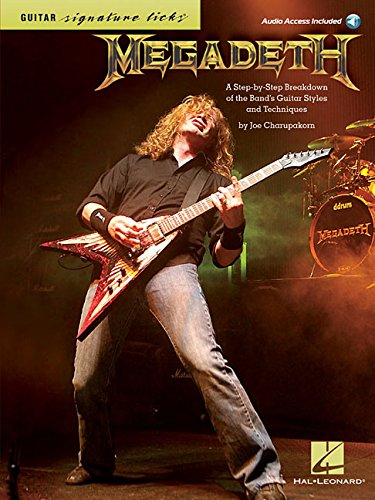 Megadeth: Signature Licks - A Step-by-Step Breakdown Of The Band's Guitar Styles & Techniques: Noten, CD für Gitarre