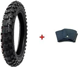 MMG Combo Dirt Bike Tire Size 90/100-14, Includes Inner Tube Size 90/100-14 TR4 Valve Stem