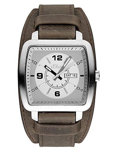 s.Oliver Herren-Armbanduhr SO-3492-LQ