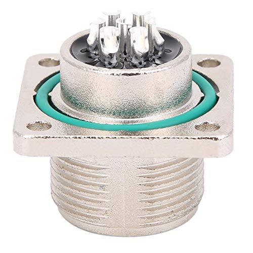 Conector de aviación Enchufe 7Pin Válvula proporcional impermeable C14-7H-P Baja frecuencia 1.3oz