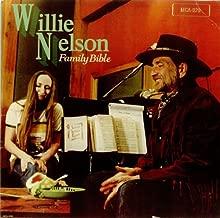 WILLIE NELSON - family bible MCA 3258 (LP vinyl record)
