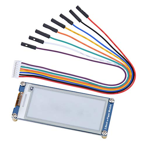 Pusokei 296x128 Resolution 2.9 Inch E-Ink E-Paper Display Module,3.3V Electronic Paper Screen Board SPI Interface for Raspberry Pi/Arduino/Nucleo,with Embedded Controller