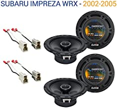 Compatible with Subaru Impreza WRX 2002-2005 OEM Speaker Upgrade Harmony (2) R65 Package New