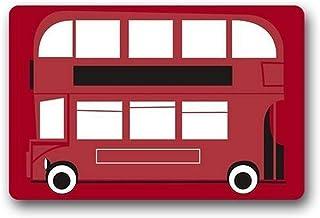 Door Mats Custom London Bus Indoor/Outdoor Doormat 23.6 (L) x 15.7 (W) inches