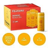 Teavana Craft Iced Tea, Mango Black Tea, 12 Fl. Oz. Cans (Pack of 12)
