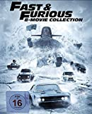 Fast & Furious 8-Movie Collection Series,Contains a Full Set of 1-8 Movies