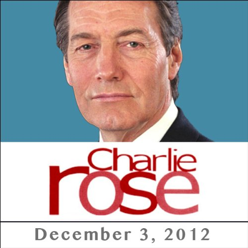 Charlie Rose: Eric Schmitt & Ehud Olmett, December 03, 2012 cover art