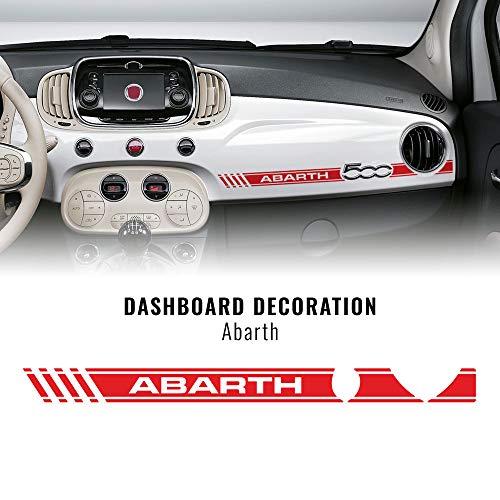 Quattroerre Stripes Strisce Adesive per Cruscotto Fiat 500 Abarth