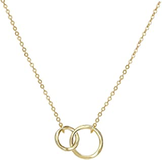 Best double ring necklace jewelry Reviews