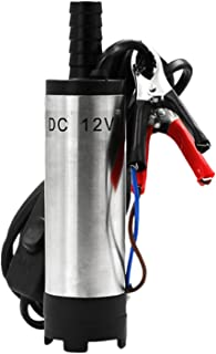 Baoblaze Rvs Water Olie Brandstof Transfer Pomp Mini Brandstofpomp Elektrische Pomp Olie Vloeibare Brandstof Water Auto Ol...