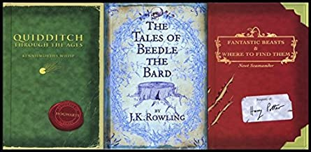 J. K. Rowling Collection 3 Books Bundle (The Tales of Beedle the Bard, Standard Edition[Hardcover],Fantastic Beasts and Wh...