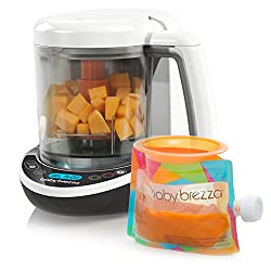 A baby brezza for making your own baby food.