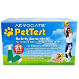 Advocate PetTest 21g Safety Lancets Box of 200