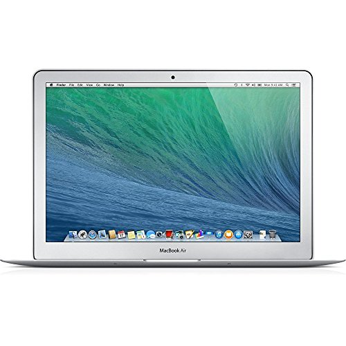 Apple MacBook Air MD760LL/A 13.3-Inch Laptop (Intel Core i5 Dual-Core 1.3GHz up to 2.6GHz, 4GB RAM, 128GB SSD, Wi-Fi, Bluetooth 4.0) (Renewed)