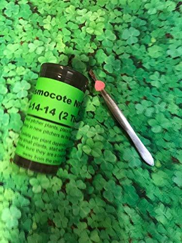 Live Carnivorous Plant Food Osmocote Plus NPK: 14-14-14 Pellets - Smart Release - 2 Tbsp w/Tweezers