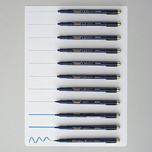 Sakura Pigment Ink Pen, Pigma Micron 02, Blue (ESDK02#36) Photo #3