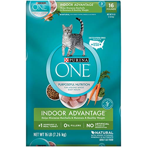 Purina ONE - Indoor Hairball & Healthy Weight Management