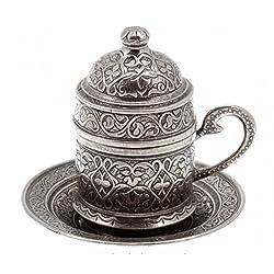 Türkische Kaffeetasse aus Kupfer