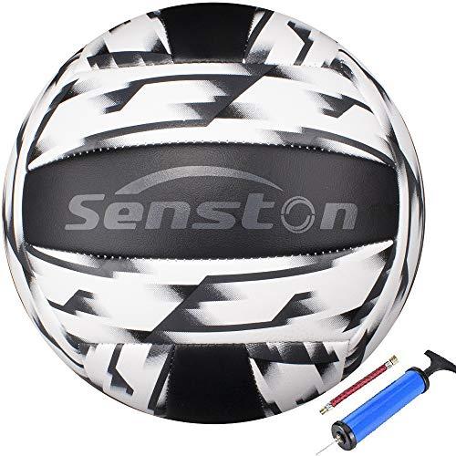Senston Balon Voleibol Estilo Camuflaje Tacto Suave Voleibol de Entrenamiento, Balon Voley Playa, Balon de Voleibol Tamaño 5 para Interior y Exterior