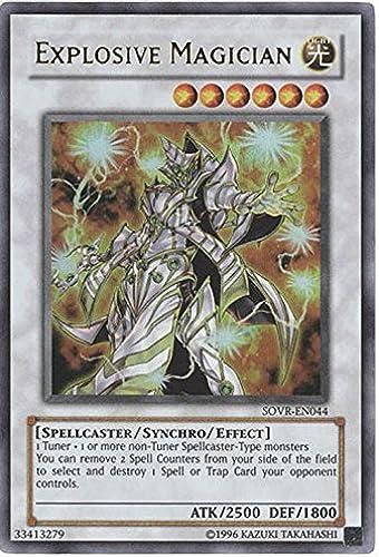 Para tu estilo de juego a los precios más baratos. Yu-Gi-Oh  - Explosive Magician (SOVR-EN044) - Stardust Overdrive - - - Unlimited Edition - Ultra Rare by Yu-Gi-Oh   garantizado