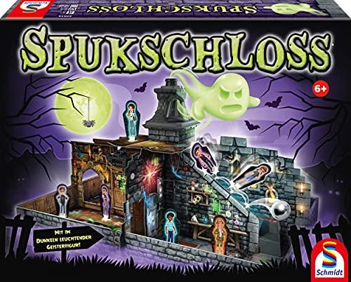 Schmidt Spiele 40619 Spukschloss, Kinderspiel, Bunt