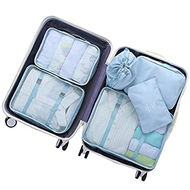 OEE Luggage Packing Organizers Packing Cubes Set for Travel