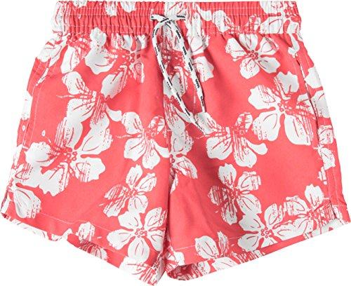 Snapper Rock Jungen UPF 50+ UV Schutz Schwimmbad Bade Shorts Surf Shorts für Kinder & Jugendliche Rosa 4-5 Jahre, 104-110cm