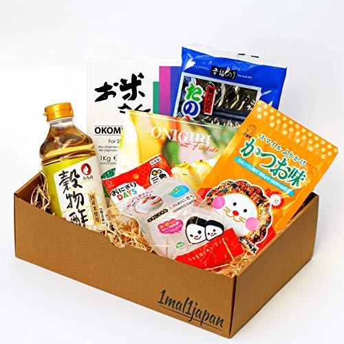 Onigiri Kochset für japanische Reisdreiecke (5-teilig, inkl. Anleitung), Geschenkidee