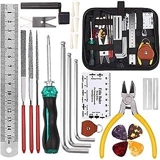 Sponsored Ad – Yeelua 26Pcs Guitar Repairing Maintenance Tool Kit with Carry Bag, Guitar Ukulele Bass Mandolin Banjo Clean...