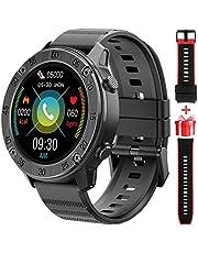 Blackview X5 Smartwatch Orologio Fitness Uomo Donna Cardiofrequenzimetro da Polso, Contapassi Fitness Tracker Impermeabile 5ATM con Mostra Meteo, Orologio 9 Modalità Sportivo con Bluetooth Touch
