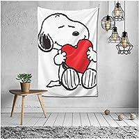 スヌーピー Snoopy タペストリー ンテリアおしゃれ壁掛け アートポスター 装飾布 インテリア ウォールアート 布ポスター 北欧風 装飾アート 模様 130*152CM