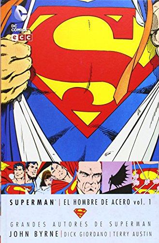 Grandes autores de Superman - John Byrne: El hombre de acero vol. 1 (segunda edición)