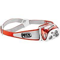 Petzl  E95 HMI –Linterna frontal con tecnología de Lighting reactiva, luz blanca, color naranja, 300 lúmenes, tamaño talla única