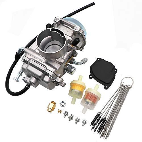 KIPA Carburetor For Polaris Sportsman 500 Carburetor 4X4 ATV Quad 1996-1998 NON HO, OEM Part Number 3130754 3130665, With Fuel Filter & Carbon Dirt Jet Cleaner Tool Kit, Durable stable