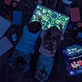Light Drawing - Fun And Developing Toy, LED Drawing Doodle Board, Educational Fluorescent Luminous Board Toy, Drawing Pad Board Glow in Dark for Children Kids Gift, Draw, Doodle, Art A4