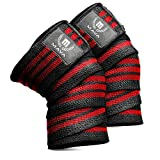 Knee Wraps for Cross Training WODs,Gym Workout,Weightlifting,Fitness & Powerlifting– Pair- Best...