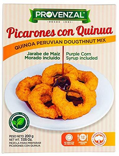 Mischung für peruanische Donuts mit Quinoa und Lila-Mais Sirup, Box 200g - Picarones con Quinua PROVENZAL 200g