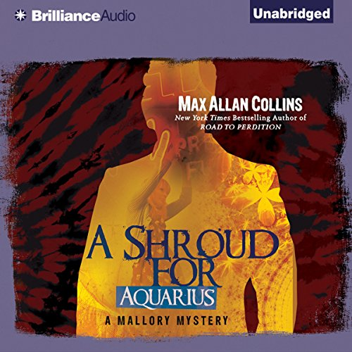 A Shroud for Aquarius audiobook cover art