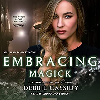 Embracing Magick: An Urban Fantasy Novel cover art