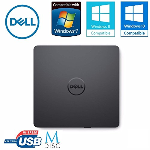 Dell External USB Ultra Slim USB DVD +/- RW Optical Drive 429-AAUQ