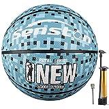 Senston Adulto Pelota de Baloncesto Tamaño 7 Balon de Baloncesto Arena Entrenamiento para Adultos Aprendices Baloncestos…