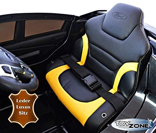 RC Auto kaufen Kinderauto Bild 2: ToyZone Kinderfahrzeug 12V Kinderauto Kinder Elektro Auto Ford Focus RS MP3 USB Ledersitz Eva Gummiräder 2,4 GHZ*
