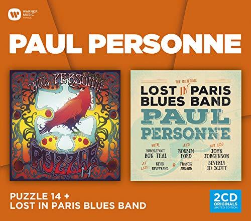 Coffret 2cd : Lost in Paris Blues Band & Puzzle 14