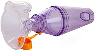 Inhaler Spacer for Using Puffer   Adaptive Aid for Better and Deeper Puff Delivery Into Lungs   Coordinates Puff Inhalatio...